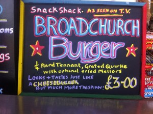 Broadchurch Burger